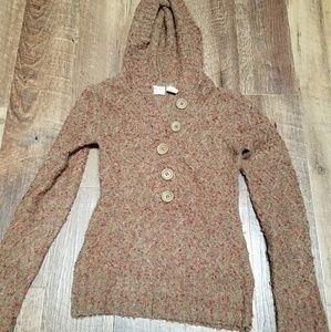 Women's BKE sweater with hoodie sz.S